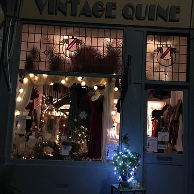 Christmas Shopping Event Thursday 15 th December 5 pm till 8 pm .Lots of affordable vintage insp