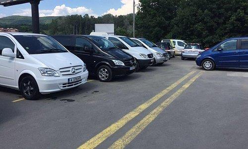 Car park of TransferBulgaria