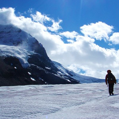 Experience Athabasca Glacier with Rockaboo! 1000% better than a mass produced tour. .