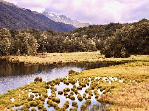 Small lake just before South Lake