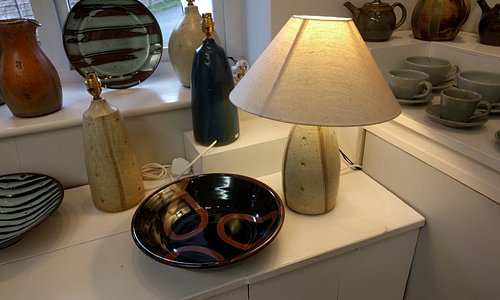 A small sample of pots. Both sculptural and domestic.