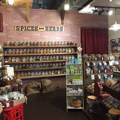 Spices at The Spice & Tea Exchange in Tarpon Springs, FL