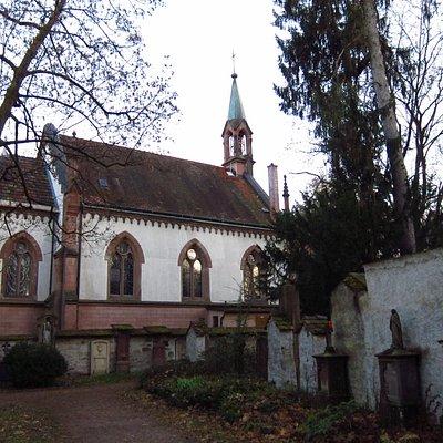 Alter Friedhof in Freiburg