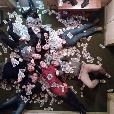 Il team di milionari!