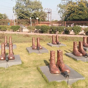 One of the symbolic representation of soldier's strength. Those who died serving the nation