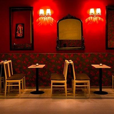 the Tango Bar in Thessaloniki-Greece