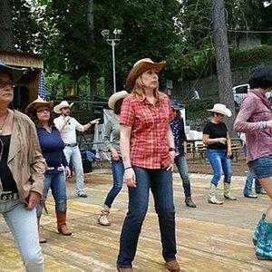 Esibizione di ballo con la maestra Daniela Pozzato