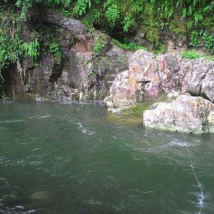 Ngungun Saok Waterfall