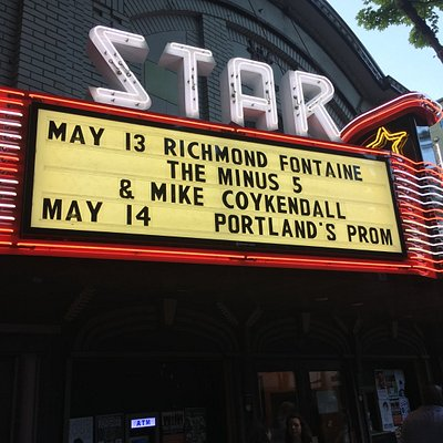 Rock show at the Star