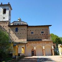 Santuario della Madonna D'ongero - vista da Nord
