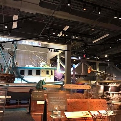 Shrimp boat and music section