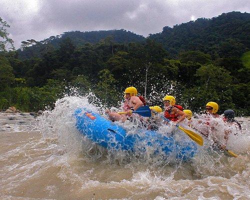 Rafting Uvita, Savegre river and waterfalls  family trip !