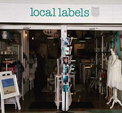 The welcoming shopfront - art, gifts, clothing, local produce and more