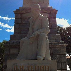 Памятник Ленину, Уфа.