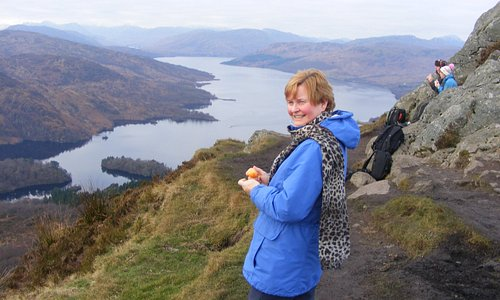 Looking along Loch Katrine (to the west)