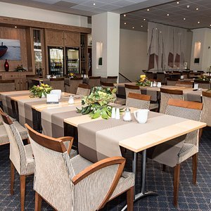 Restaurant at the Hotel Mueggelsee Berlin