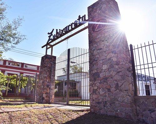 Portón de bienvenida