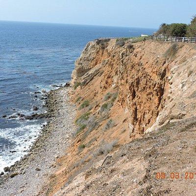 Point Vicente Lighthouse另一辺海岸