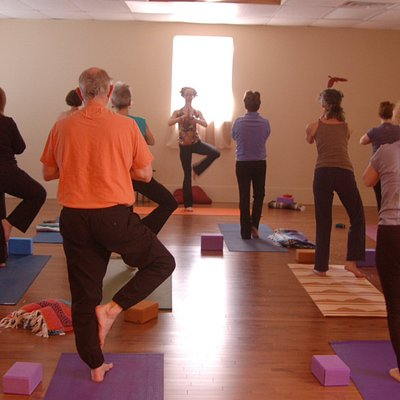 Offering a variety of yoga classes from gentle joints to vigorous vinyasa flow.