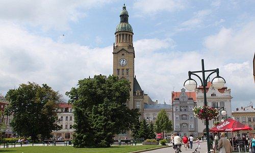 Prostějovská radnice.