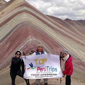Rainbow Mountain hike Peru, a wonderful day trek with Top Peru Trips