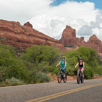 See Sedona on a Fat Tire Mountain Bike!