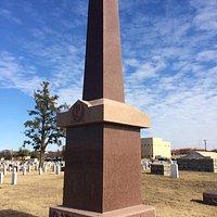 Quanah Parker headstone
