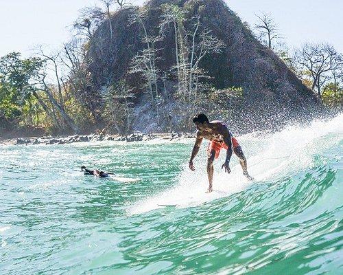 Advanced surf lesson