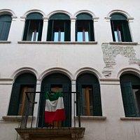 Facciata di Palazzo Cortona