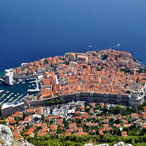 Dubrovnik Private Tours - View from the Srdj Mountain