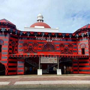 """Historic Fire Station Museum of Ponce """"Parque de Bombas """""""