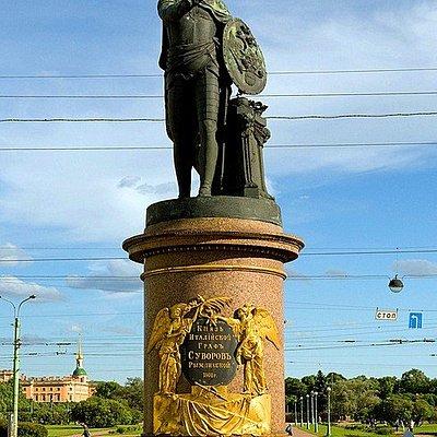 Monument to General A.V.Suvorov, Suvorovskaya Ploshchad, St Petersburg,Russia