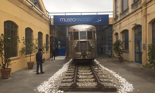 Ingresso del Museo Piaggio
