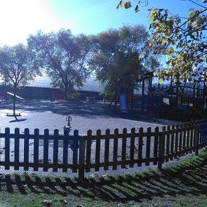 Parque de Invierno, una de las zonas de columpios