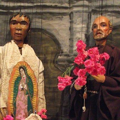 Marionetas Alfín Rosete Aranda, Carlos V. Espinal e Hijos, Apariciones de la Virgen de Guadalupe