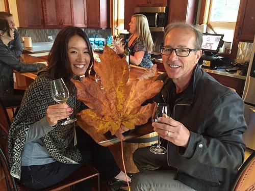 wine in fall