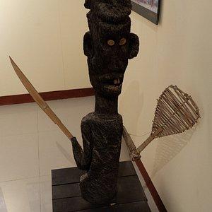 ダナンの原住民のオブジェ