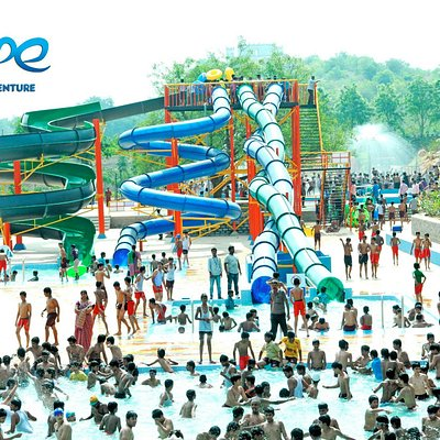 Water rides at escape water park