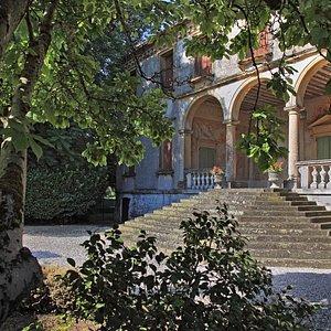 Loggia, Villa Roberti