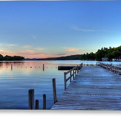 Sunset on Beautiful Newbuy Harbor that our studios overook!