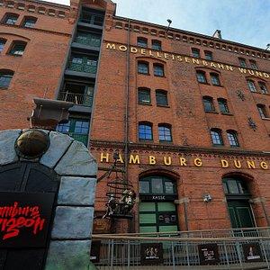 Hamburg Dungeon Außenfassade