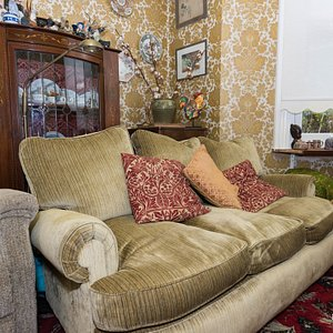 Living Room at the Grove Guest House