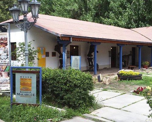 Fachada del Museo Regional y del Viejo Almacen.