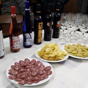 Bodega Domingo y Quiles, Galera - selection of wines