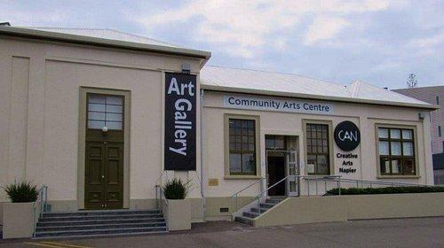 The CAN - Creative Arts Napier, 16 Byron St, Napier.