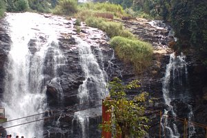 Abbey fall : The falls was earlier called Jessi falls named after a British officer's wife. Howe