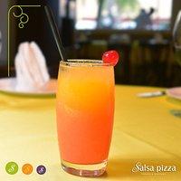 Sex on the beach, um dos drinks mais famosos do mundo está também no Salsa Pizza!