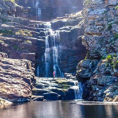The fantastic and awe-inspiring waterfall hike, part of our Tsitsikamma day trip