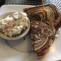 Elmwood Inn - my Reuben sandwich