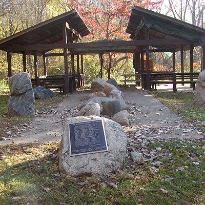 Picnic Pavilion at Fox Island
